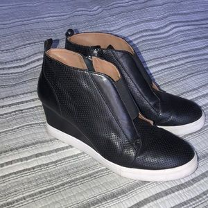 Wedge Sneaker by Linea Paolo